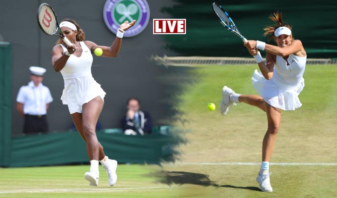 Suivez Williams-Muguruza en Live, finale dames de Wimbledon