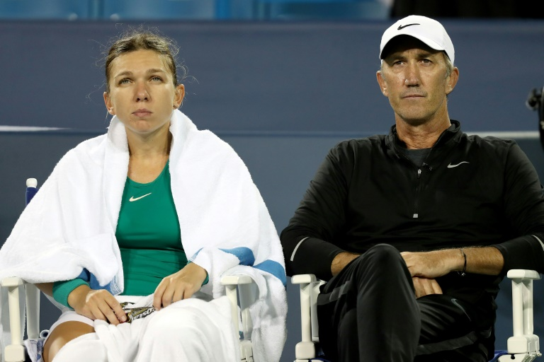 World number one Halep and coach split
