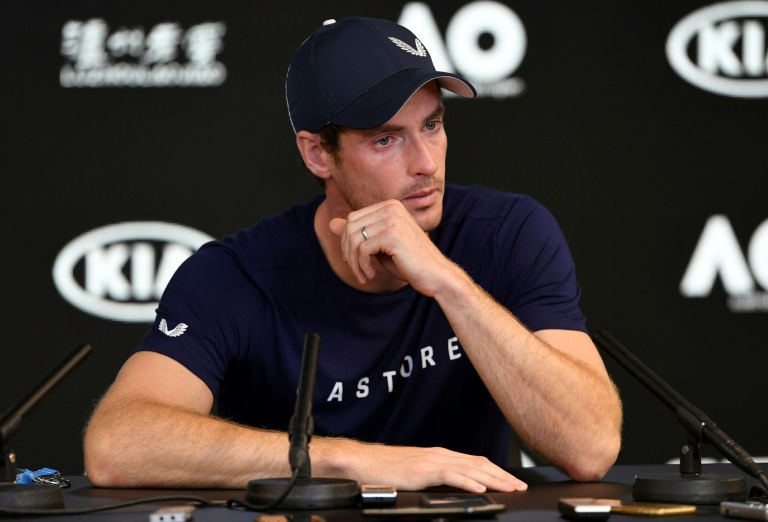 Andy Murray vers la retraite, trahi par son corps