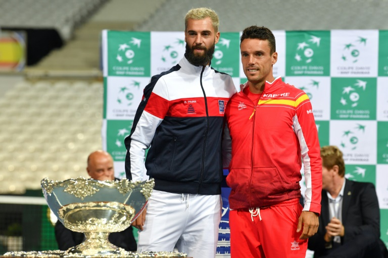France captain Noah admits Paire Davis Cup selection 'not easy'