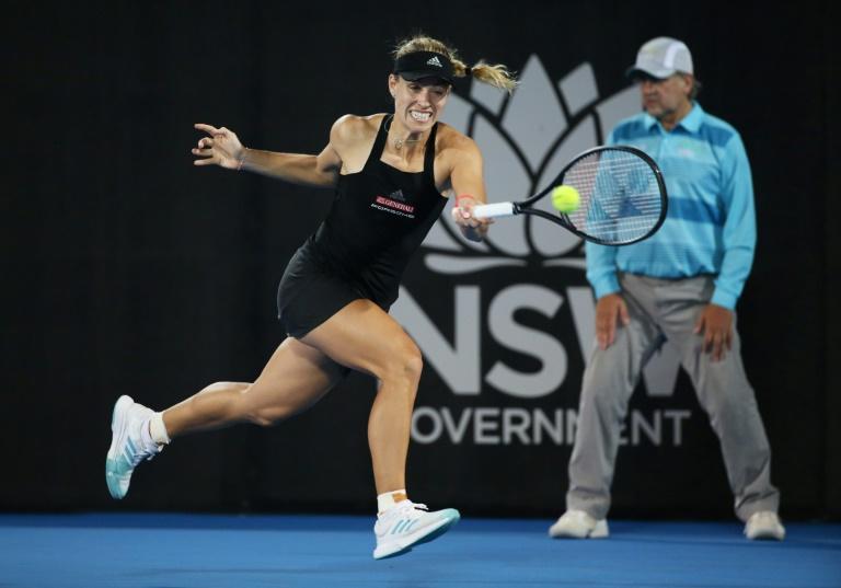 Kerber through as Stephens avoids shock loss in Sydney