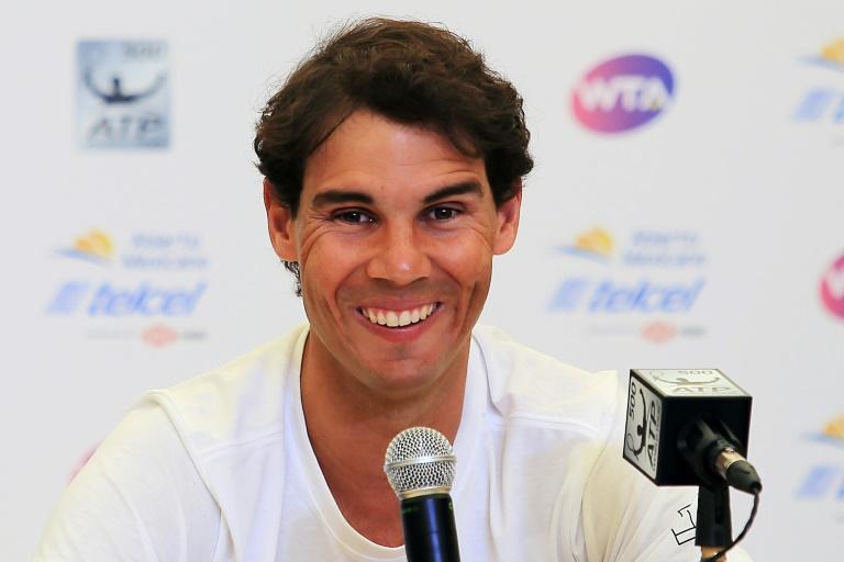 Nadal unfazed by rankings race on return