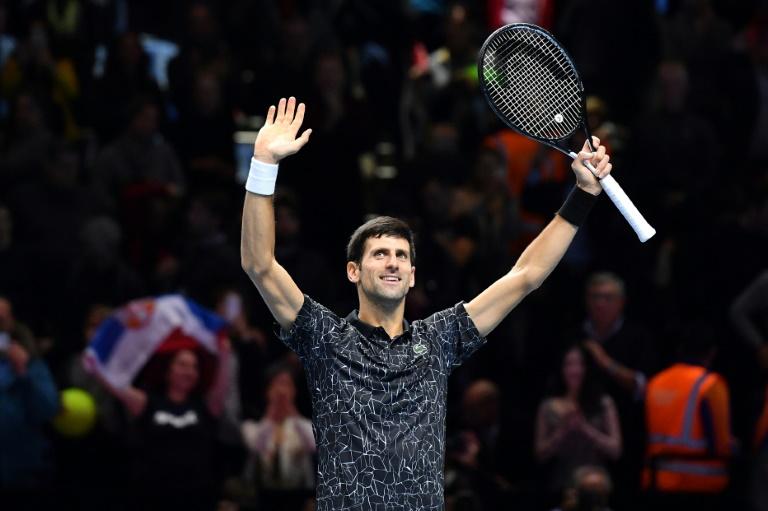 Djokovic veut finir la saison en apothéose