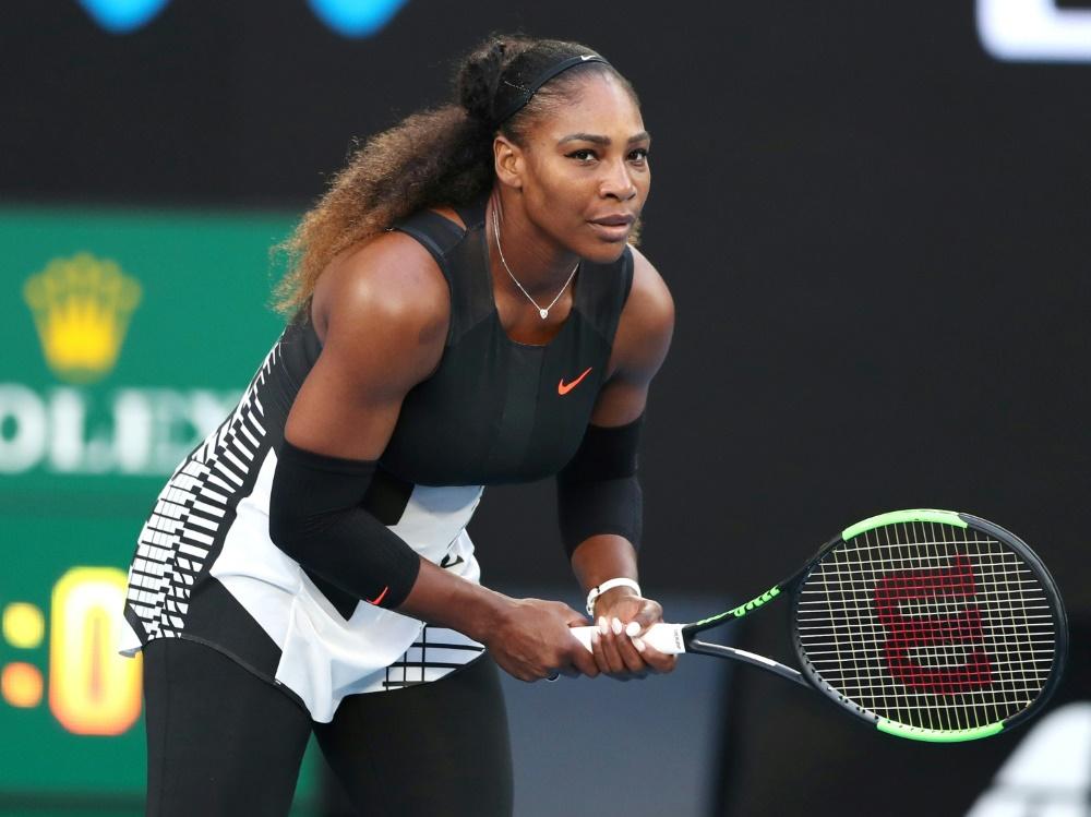 Trainer:  Serena Williams startet bei den French Open