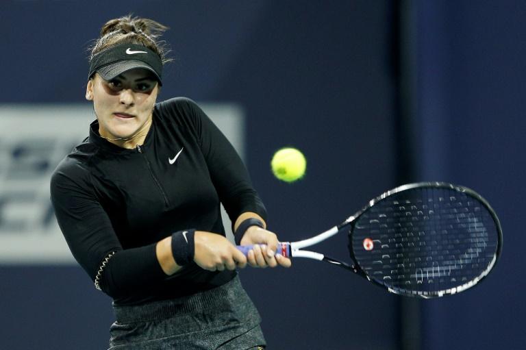 La Canadienne Bianca Andreescu toujours blessée à une épaule