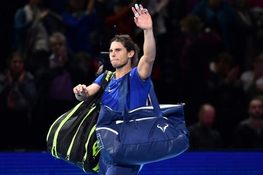 Masters: Rafael Nadal, blessé, se retire du Masters de Londres