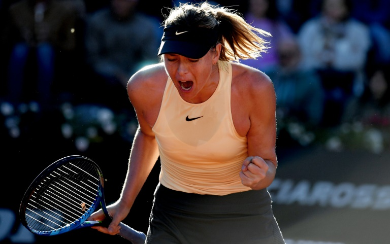 Sharapova delight at popping the question to Nadal