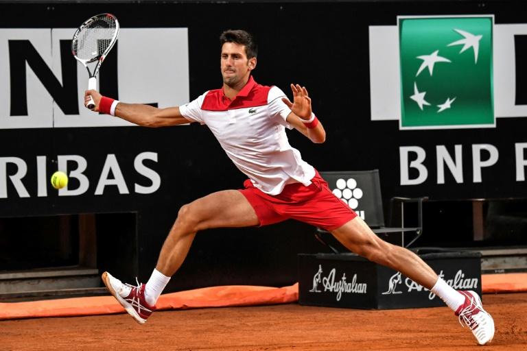 Djokovic en quarts de finale à Rome