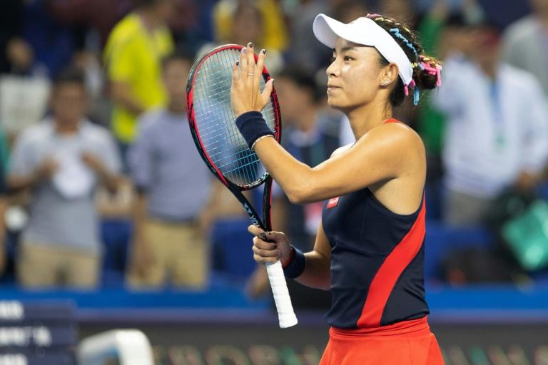 'Incredible' Wang dominates Muguruza to make Zhuhai final