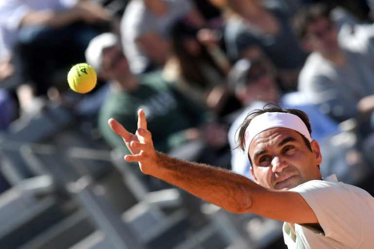 Kyrgios disqualified as Federer, Nadal, Djokovic advance in Rome