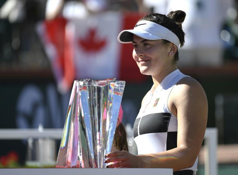 Indian Wells: Bianca Andreescu prend date