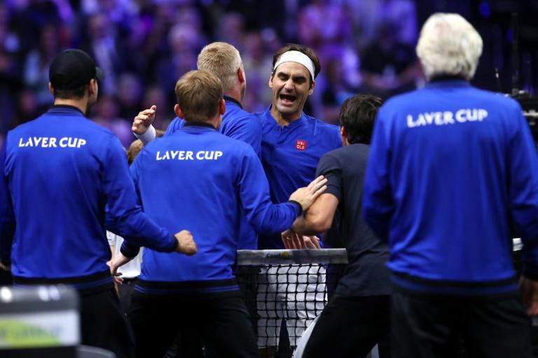Laver Cup: Federer redonne l'avantage à l'Europe