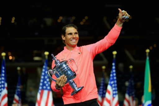 Nadal encourages disaster victims after US Open win