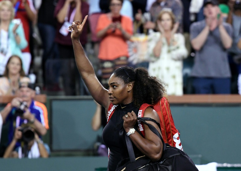 Serena Williams ousted from Indian Wells, Wozniacki marches on
