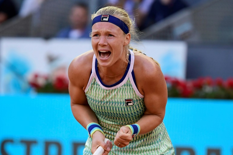 History-making Bertens triumphs in Madrid and halts Halep push for top spot