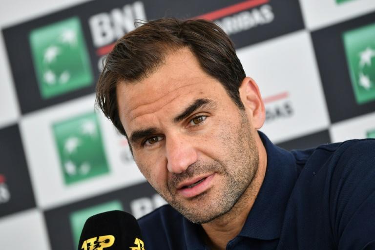 La pluie à Rome renvoie Federer, Nadal et Djokovic à jeudi