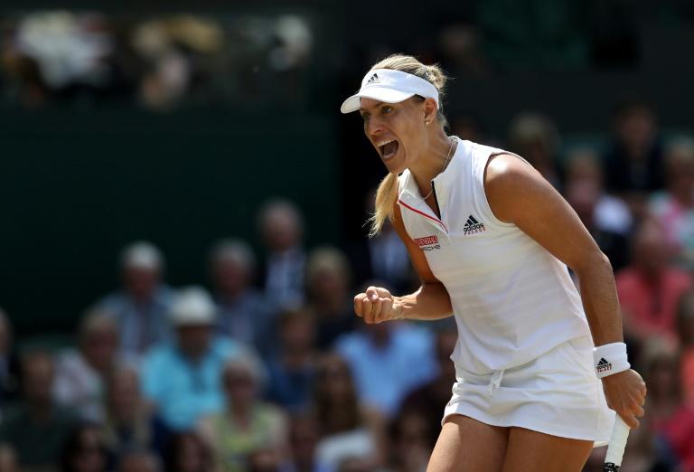 Kerber storms into second Wimbledon final as Ostapenko misfires