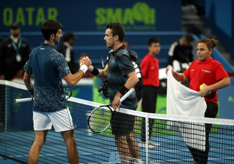 Djokovic éliminé à Doha et remonté contre la presse