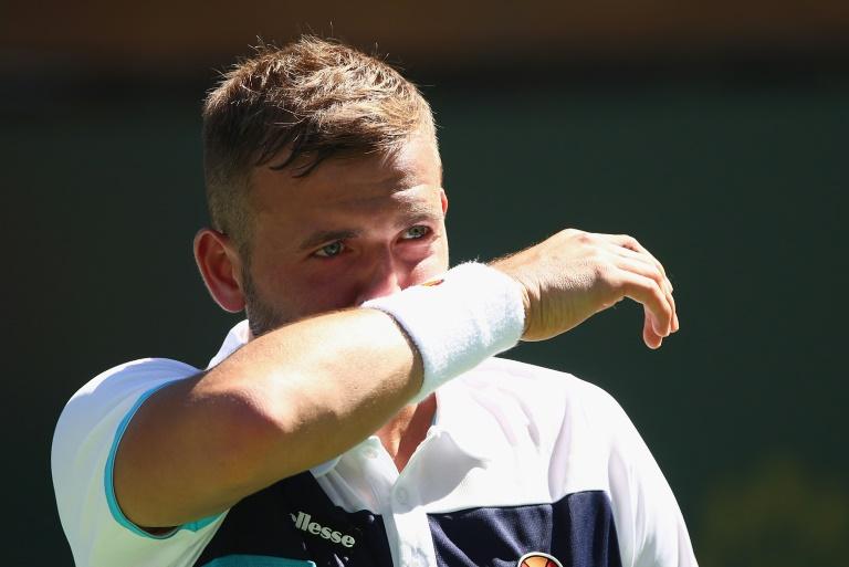 Britain's Dan Evans to return to tennis after drugs ban