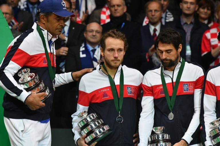 Coupe Davis: un enterrement dans la tristesse pour les supporters français