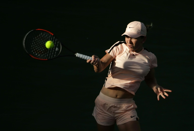 Top seed Halep battles through, Kvitova cooled off