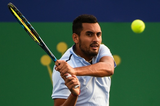 Tennis: Kyrgios fined for storming off court in Shanghai