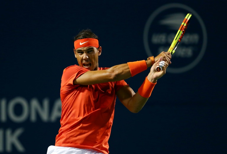 Nadal reaches Toronto quarters with win over Wawrinka