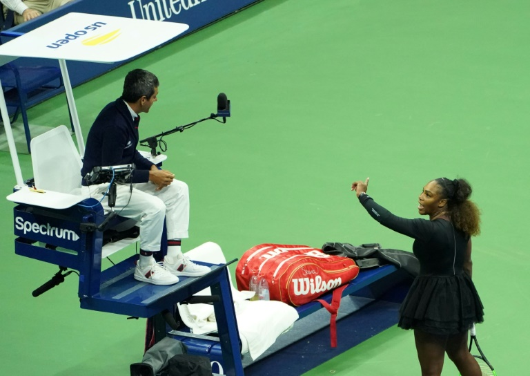 Serena's US Open row latest to put tennis umpires in spotlight