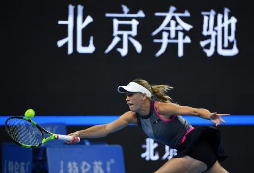 Hong Kong: Blessée, Wozniacki jette l'éponge au deuxième tour