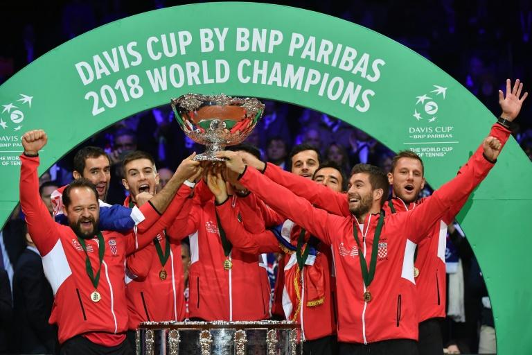 La Coupe Davis perd l'un de ses sponsors historiques