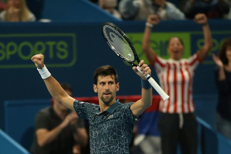 Le N.1 mondial Djokovic a encore souffert mais va en demi-finales à Doha