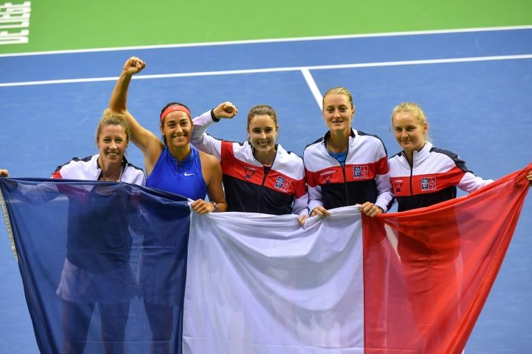 Fed Cup: France-Roumanie en demi-finale, les Tchèques tenantes du titre sorties prématurément