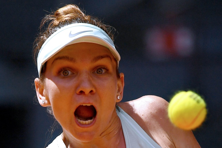 Halep to face Bertens in Madrid final