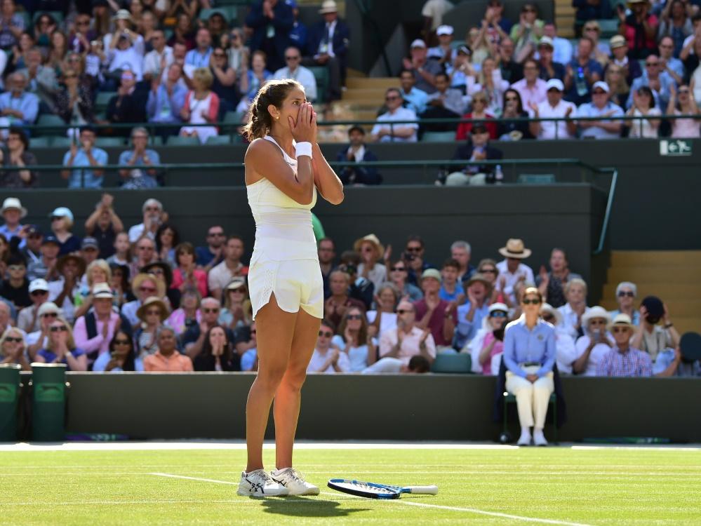Görges folgt Kerber:  Zwei Deutsche im Wimbledon-Halbfinale