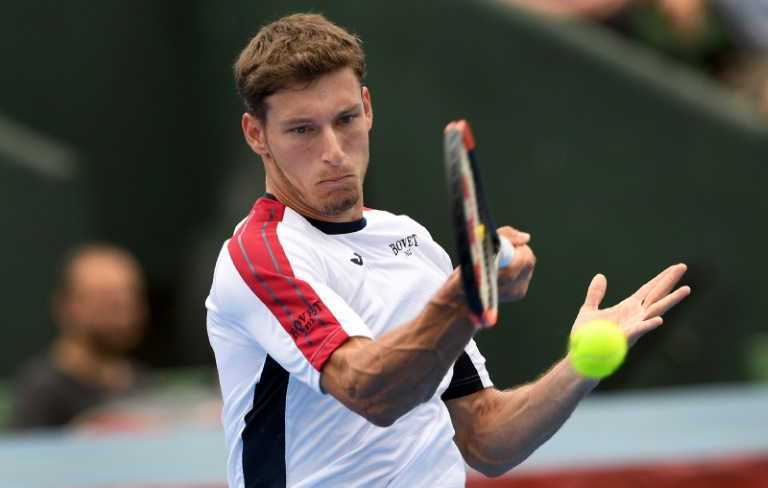 Carreno Busta lifts Kooyong title with Ebden defeat