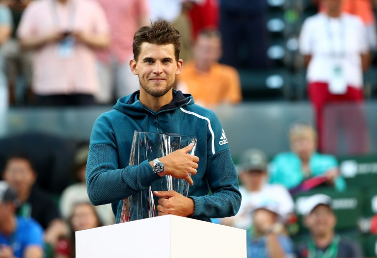 Classement ATP: Thiem passe devant Federer