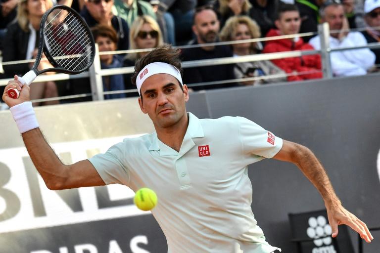 Federer, Nadal et Djokovic en quarts à Rome, Osaka sauve son trône