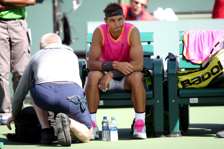 Nadal wonders if hard courts too hard on players