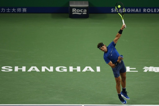 Nadal races into Shanghai third round