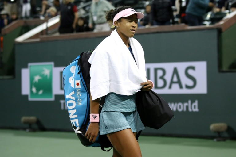 Top-ranked Osaka shocked by Bencic in Indian Wells 4th round