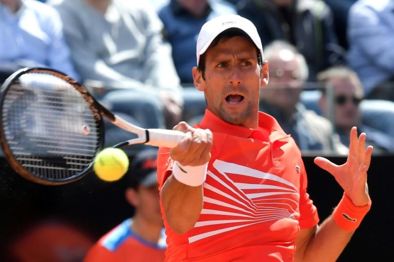 Djokovic, Nadal et Federer sans souci en 8es à Rome, Thiem éliminé