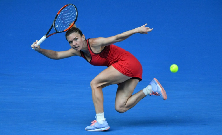 Halep hails 'beautiful' Australian Open despite final loss