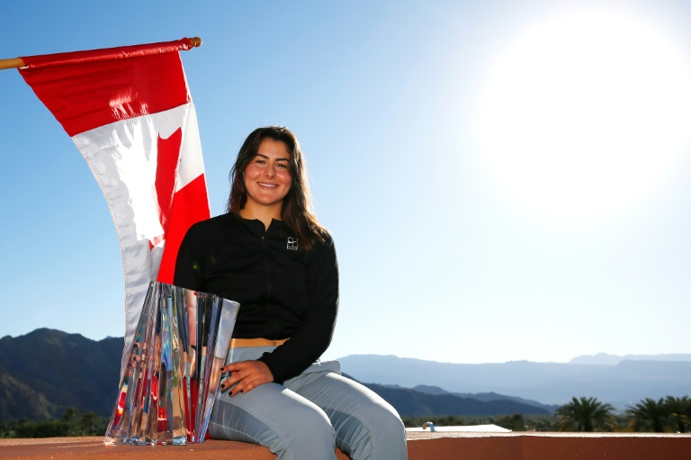 Classement WTA: Andreescu à grands pas vers le Top 20