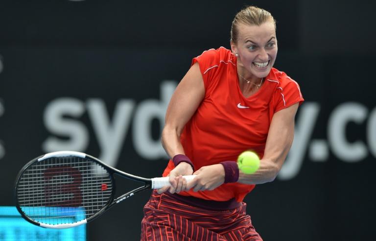 Kvitova fait le plein de confiance à Syndey avant l'Open d'Australie
