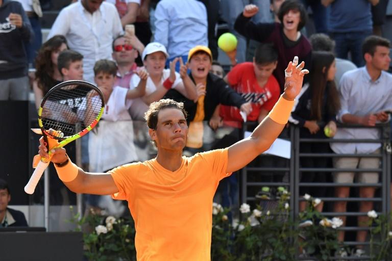 Nadal eases past Shapovalov, Djokovic back challenging in Rome