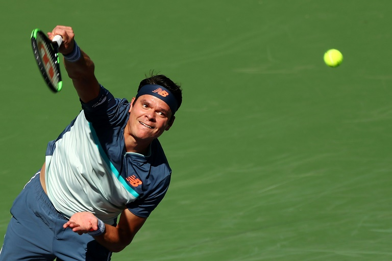Raonic ends Kecmanovic run, reaches Indian Wells semi-finals