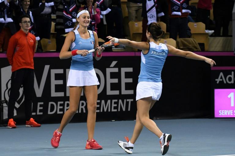 Fed Cup: France: heureusement, il y avait Mladenovic...
