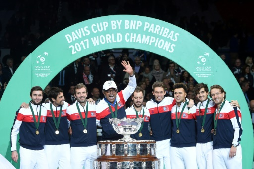 Tennis: Pouille powers France to Davis Cup glory