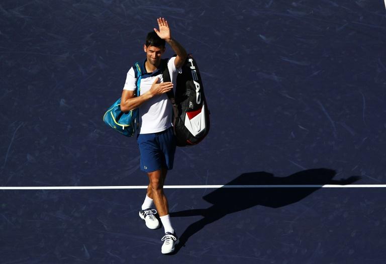 Retour manqué pour Djokovic