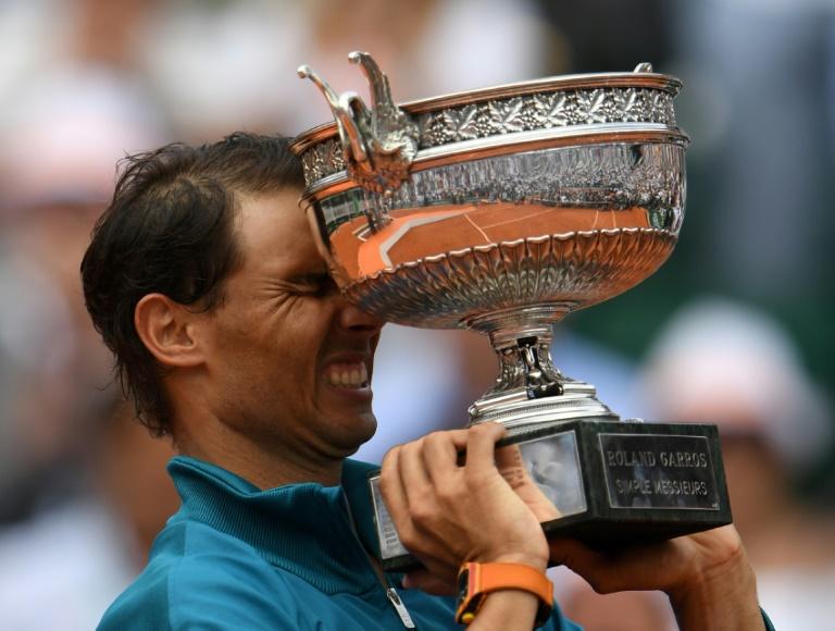 Nadal insists passing Federer's 20 Slams not on agenda